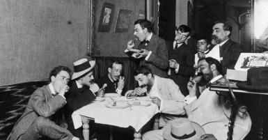 """Exposició: """"CU-CUT!"""" Sàtira política en temps trasbalsats, 1902-1912"""