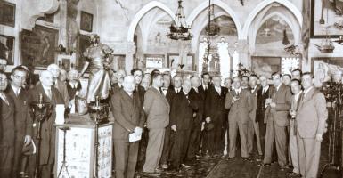 Homenatge a Joaquim Folch i Torres al MNAC