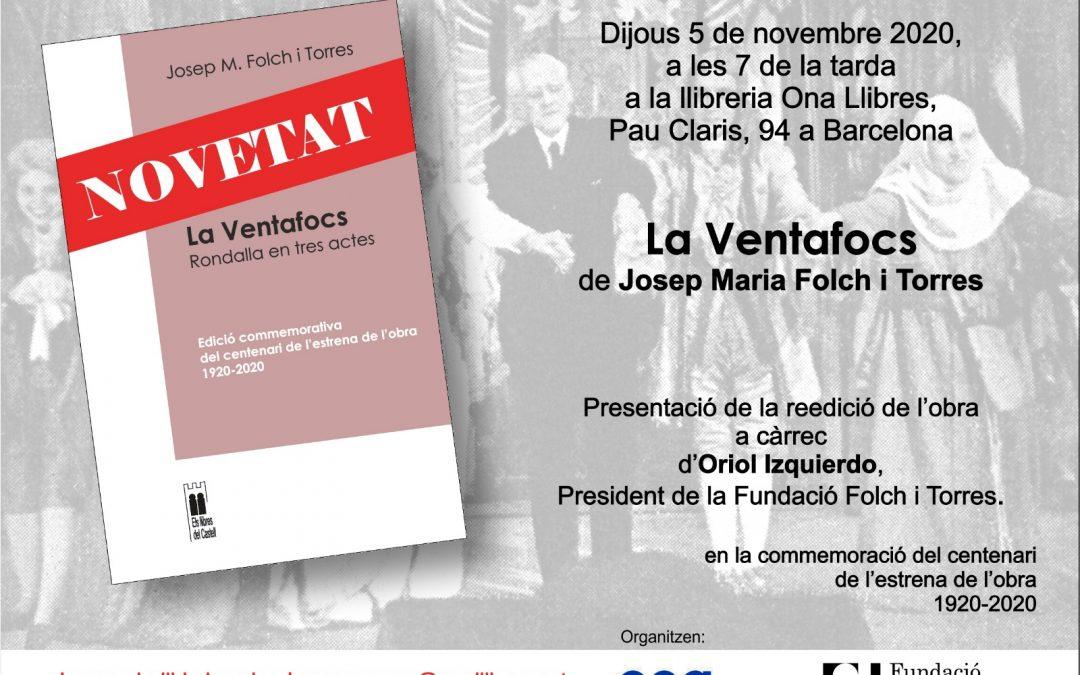 Presentació de la reedició de La Ventafocs
